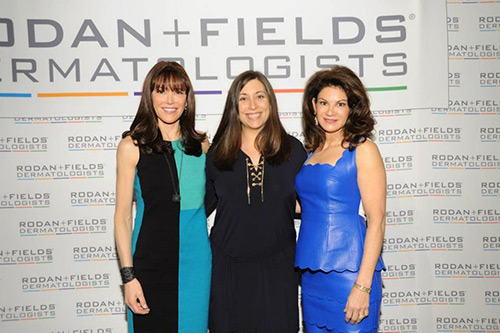 Allison with Doctors Rodan and Fields