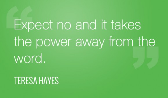 Teresa Hayes Quote