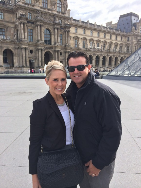 Laura and Marcel on the RFx Circle trip in Paris.