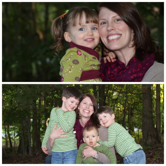 Kate loves having the time to develop individual relationships with each of her children.