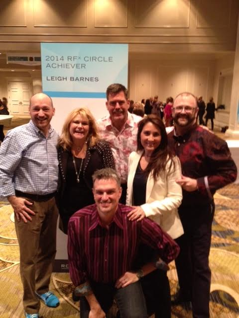 ​Bonn and Craighton with a few of their team members at Leadership Summit 2014.