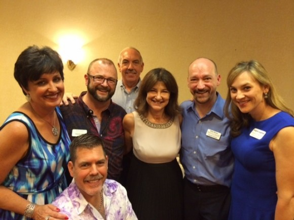 Bonn, Craighton, Lori Bush, and some of the great friends they have met in their business.