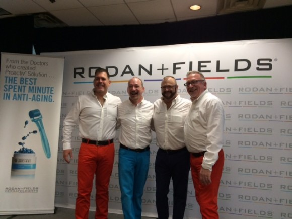 Bonn and Craighton at the Dallas Groundswell with some of their Canadian friends and business partners.