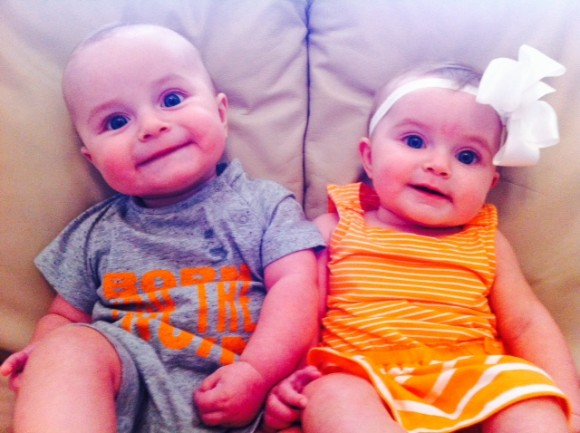 Susie loves that her R+F business has given her the option to stay home with her twins, Easton and Emerson.