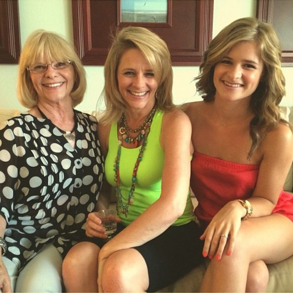 Three generations of R+F REDEFINE product users: Denise Cade, Debbie Boyd, and Jenna Boyd.
