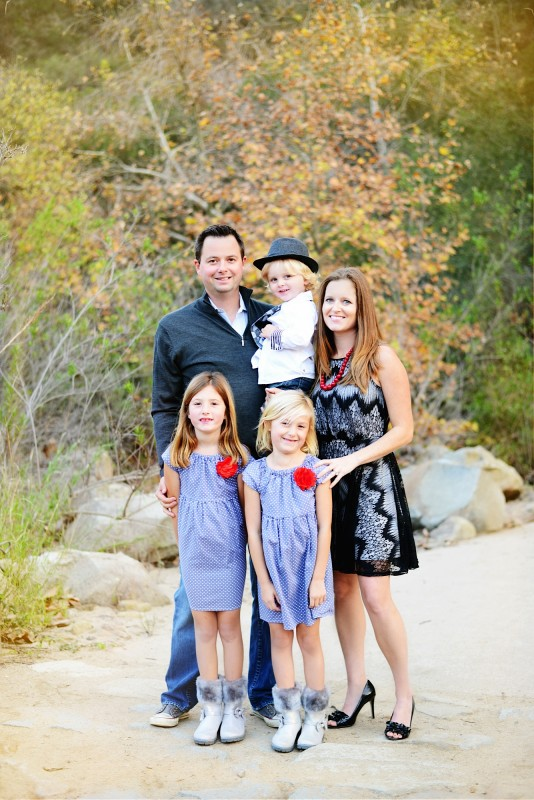 Melinda with her husband, Steve, and their children: Jack, Maddie, and Gabbie.