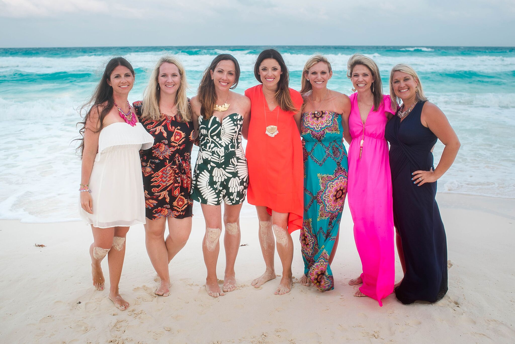 Emily enjoyed a trip to Mexico with some of her Rodan + Fields teammates.