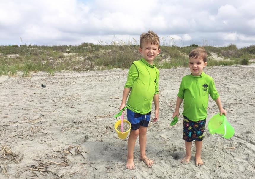 For Ryan Beck, being an Independent Consultant with Rodan + Fields means the Beck boys have constant access to the ocean.