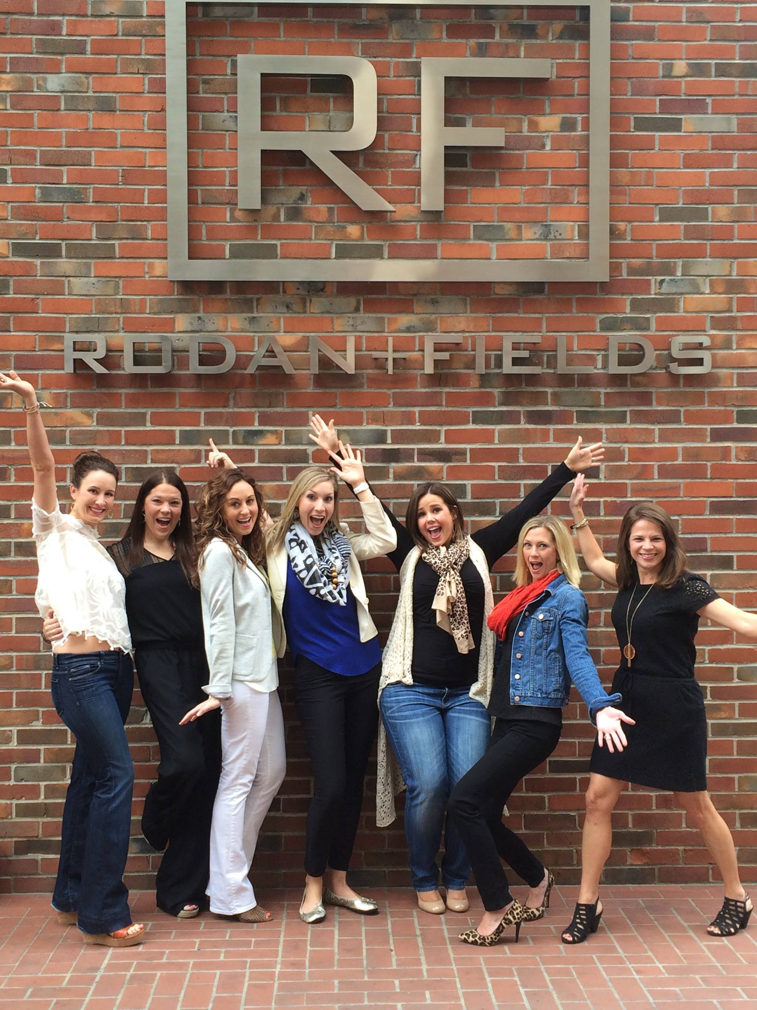 R+F Consultant Ali Wilson and friends