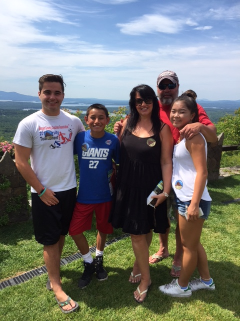 R+F Consultant Karen Mascari and her kids