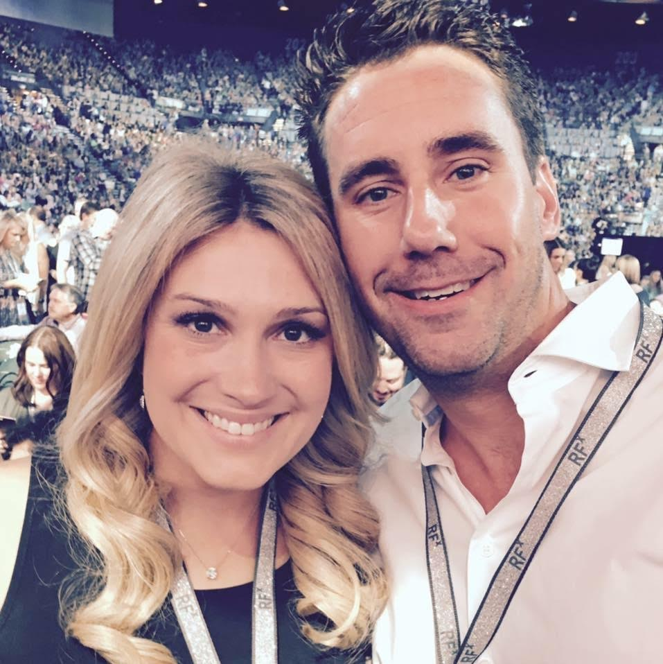 R+F Consultant Tory Shaughnessy and husband at Convention