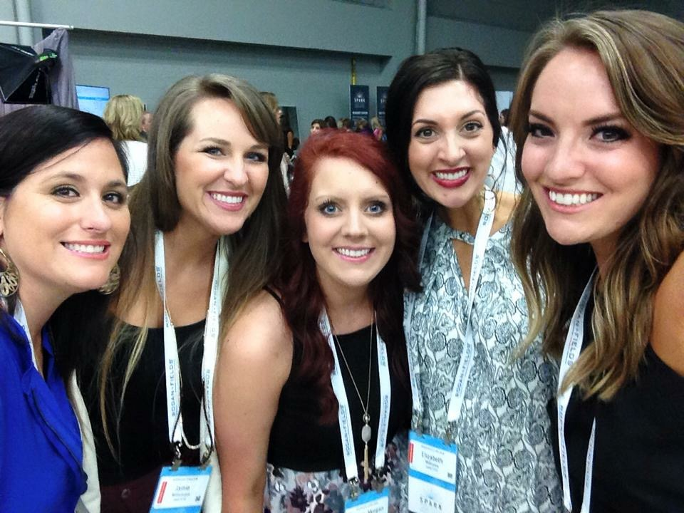 R+F Consultant Morgan Anderson and friends at Convention