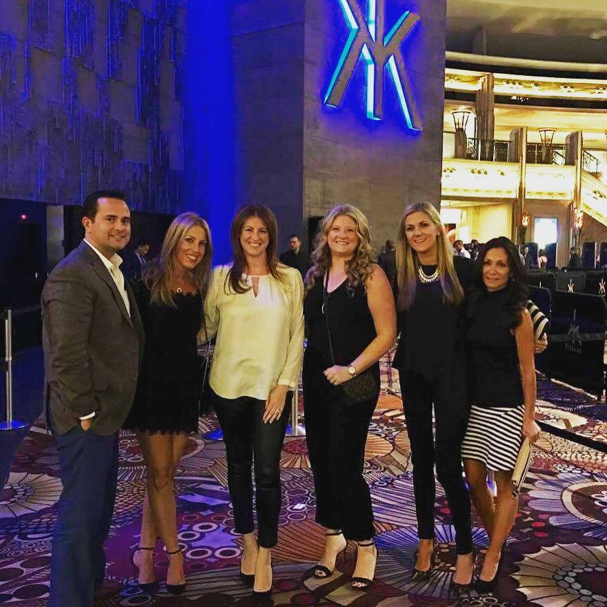 Kelly with her Business Partners at R & F Convention 2016 in Las Vegas! Melissa & Patrick McCarthy, Meghan Sheehan, Erika Redmond & Christine Brady