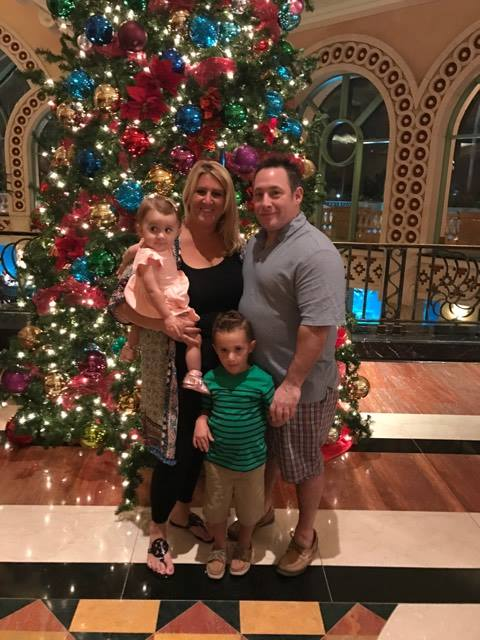 Family Photo in Dec 2016 in Atlantis. A family favorite vacation spot earned and paid for by Rodan and Fields.