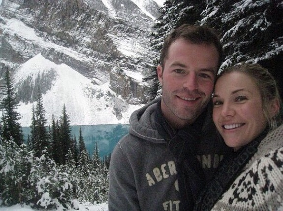 Leisa and her husband got engaged in Lake Louise Canada. When they earned the LTW trip to Banff, Canada in June 2016, they went back to the same spot!