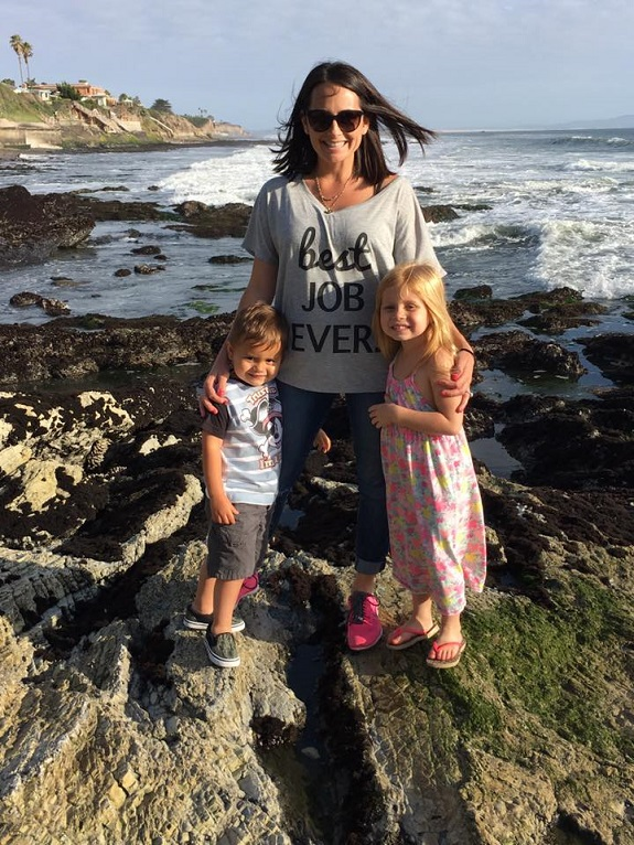 R+F Consultant Jennifer Klassen and her children