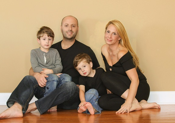 R+F Consultant Danielle Cohen and her family
