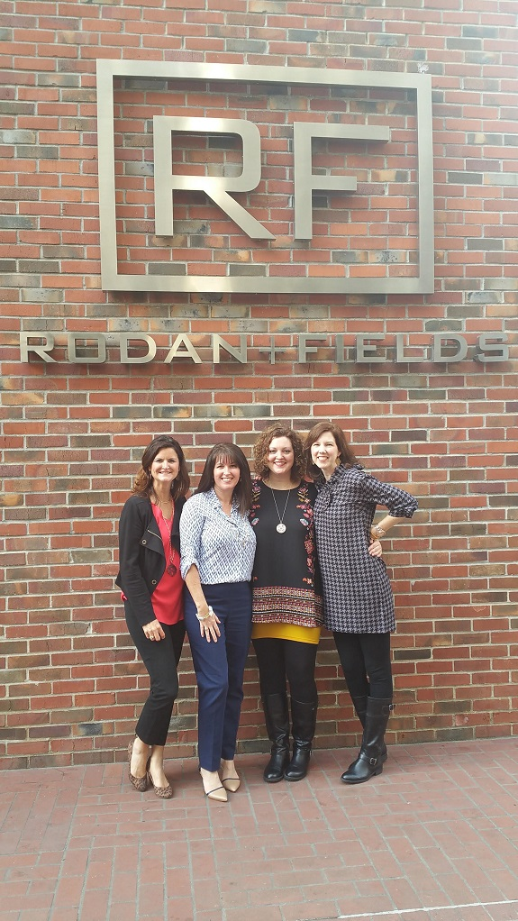 R+F Consultant Heidi Wilson with her power partners