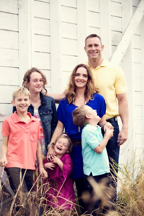R+F Consultant Jill Edgell Smith with her family