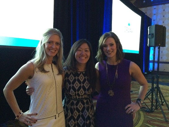 R+F Consultant Kathleen Wilde with Jen and Jamie