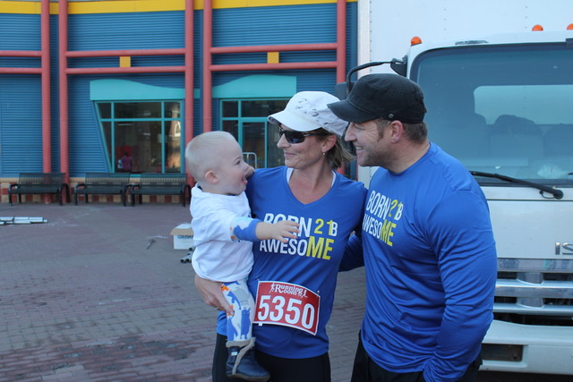 R+F Consultant Christie Lang at a benefit run