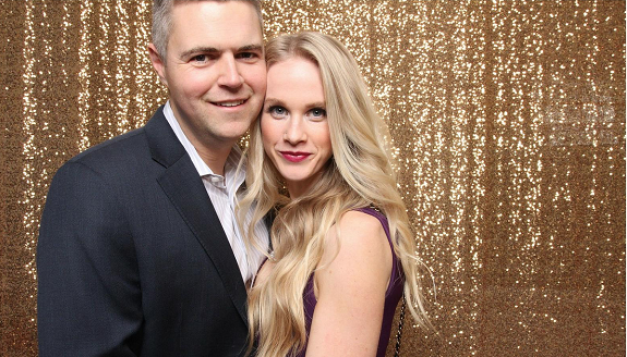 R+F Consultant Jamie Truscott and her husband