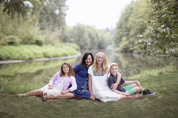 R+F Consultant Allison Eastman with her family