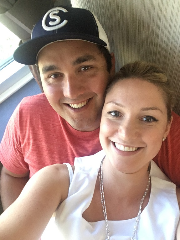 R+F Consultant Kristin Gauthier with her husband
