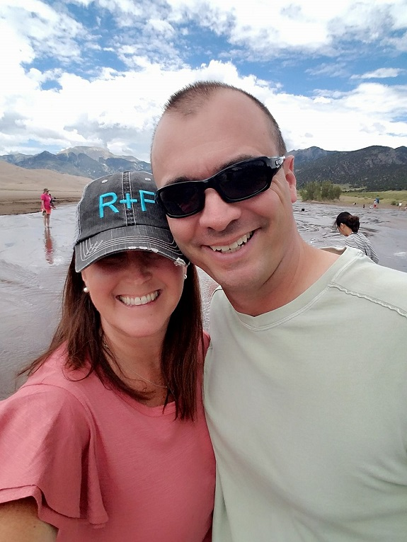 R+F Consultant Michelle Roy with her husband