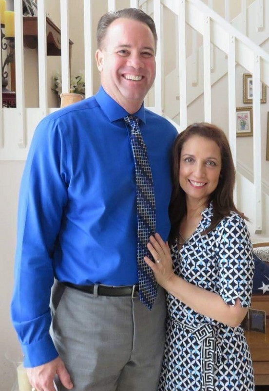 R+F Consultant Bobbie Silva with her husband Al