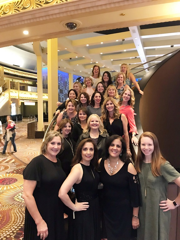 R+F Consultant Bobbie Silva with team members