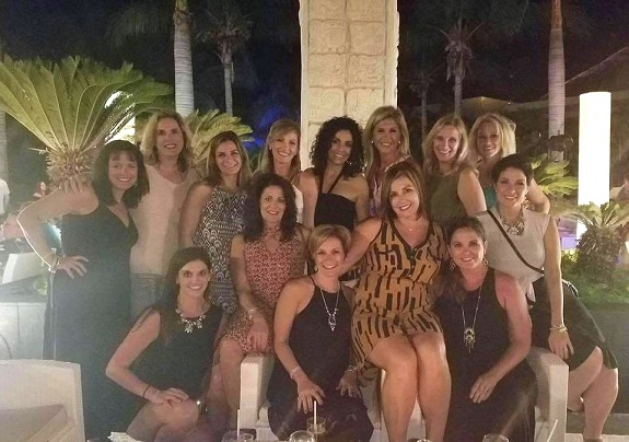 R+F Consultant Andrea Judd with team members