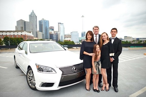 R+F Consultant Bonnie Sloan with her Lexus