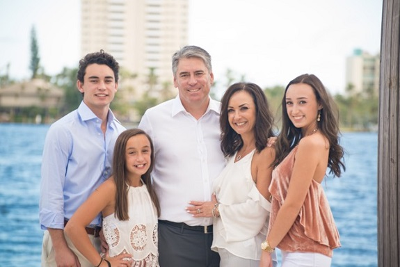 R+F Consultant Bonnie Sloan with her family