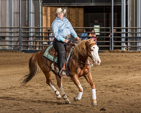 R+F Consultant Bridget Cavanaugh riding her horse