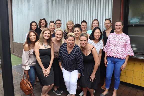 R+F Consultant Bridget Cavanaugh with her Australia team