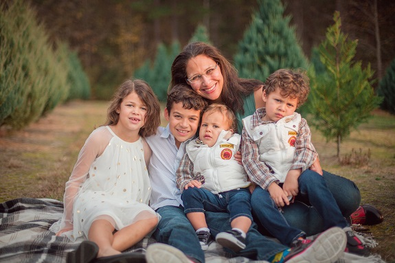 R+F Consultant Dani Townsend with her kids