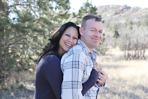 R+F Consultant Dani Townsend with husband