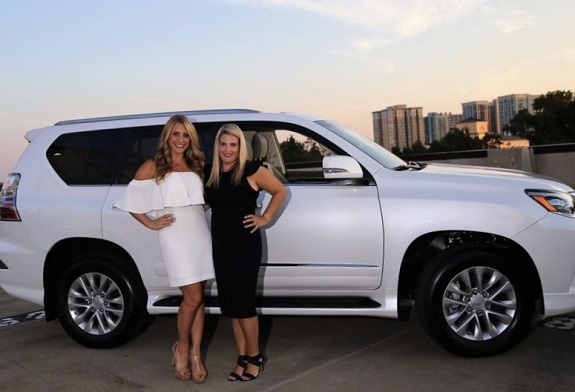 R+F Consultant Melanie Snare with Molly