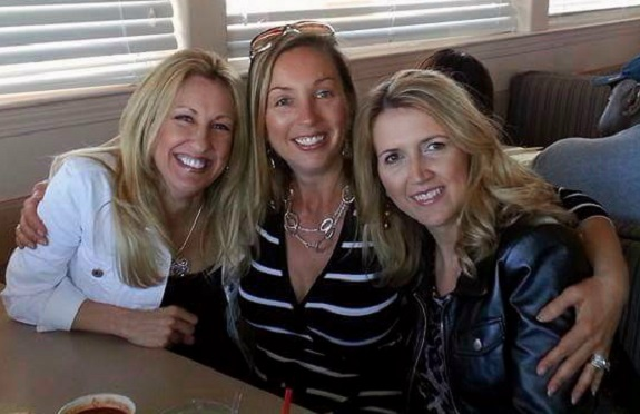 R+F Consultant Michelle Carnahan with business partners