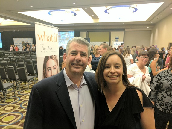 R+F Consultant Emily Babcock and Dr. Tim Falla