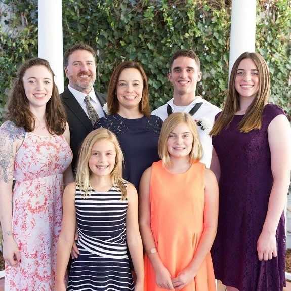 R+F Consultant Emily Babcock with her family