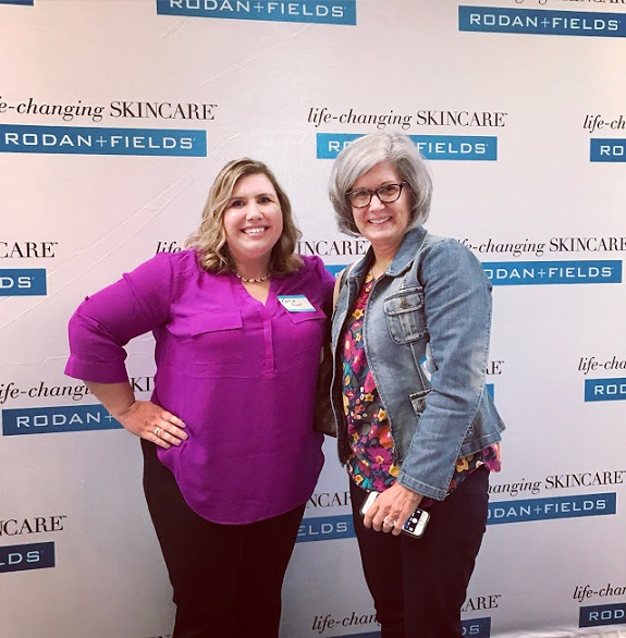 R+F Consultant Karla Gust with her aunt
