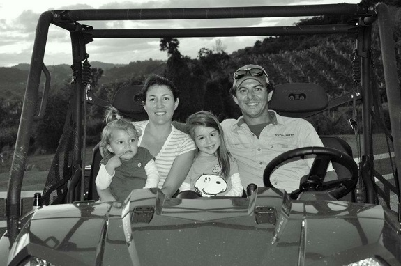 R+F Consultant - Silvia Bonachea & Family at their Plantain Farm
