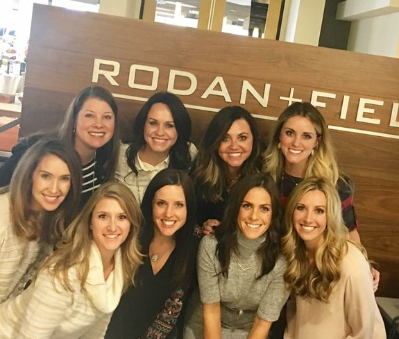 Rodan + Fields Consultant - Holly Brewer at the Home Office